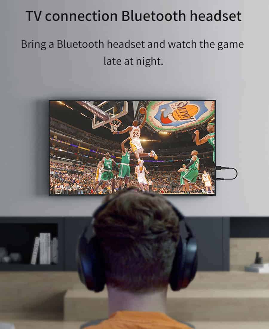 Bluetooth 5.0 car Audio Receiver Transmitter tv connection bluetooth headset