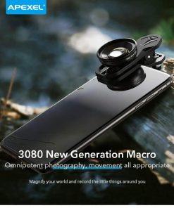 APEXEL HD optic camera phone lens 100mm macro lens 3080 new generation macra omnipointent photography
