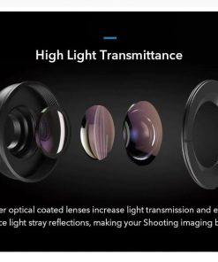 APEXEL HD optic camera phone lens 100mm macro lens high light transmittance