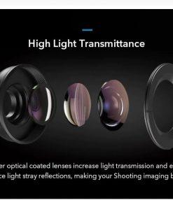 APEXEL HD optic camera phone lens 100mm macro lens high light transmittance
