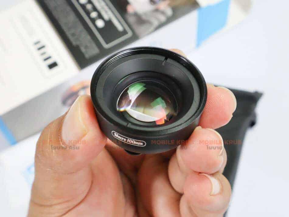 APEXEL HD optic camera phone lens 100mm macro lens review real Product Body 01