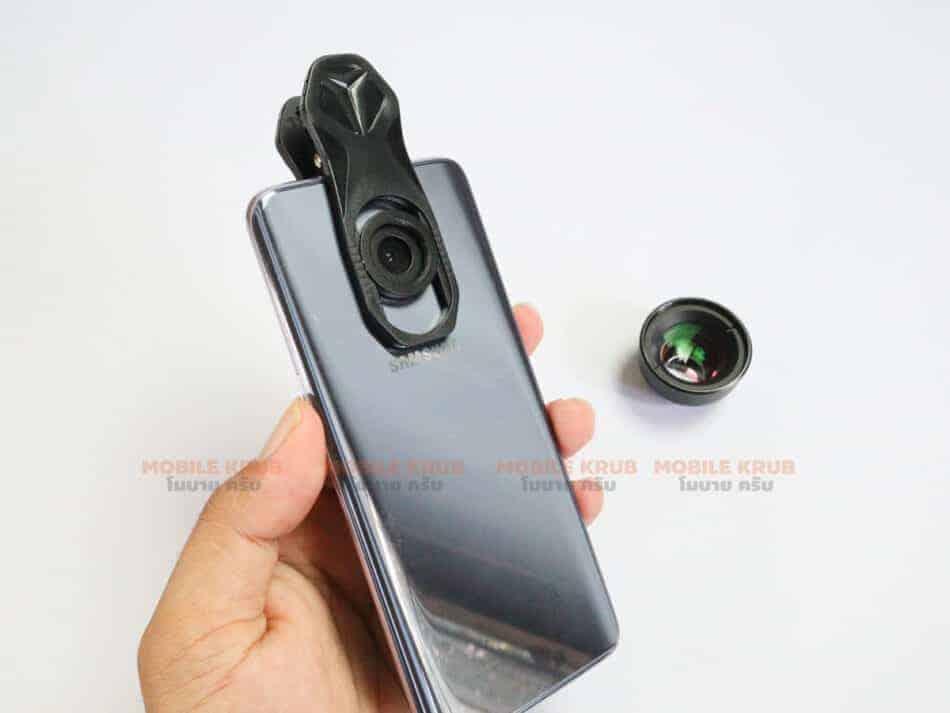 APEXEL HD optic camera phone lens 100mm macro lens review real Product before install