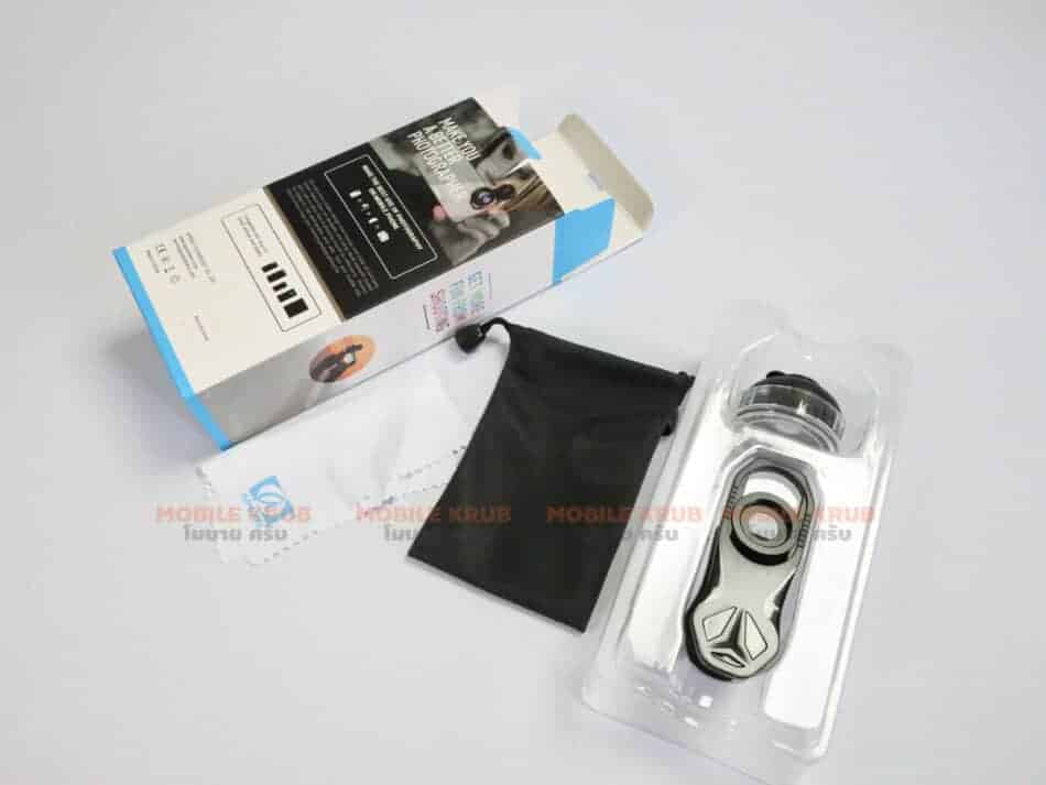 APEXEL HD optic camera phone lens 100mm macro lens review real Product open box