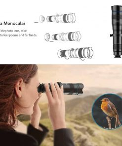 APEXEL optic phone mobile camera lens 36x telephoto Asa monocular
