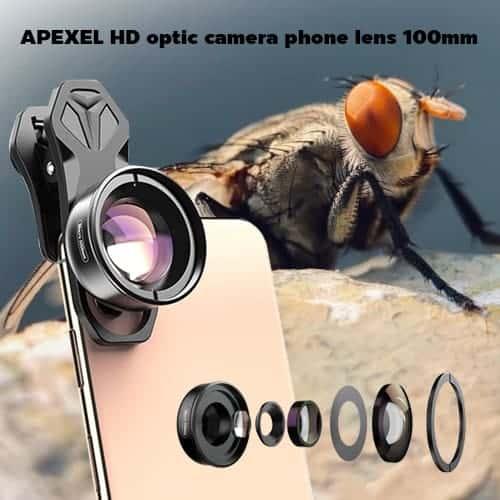 BEST 2020 APEXEL HD optic camera phone lens 100mm main profile