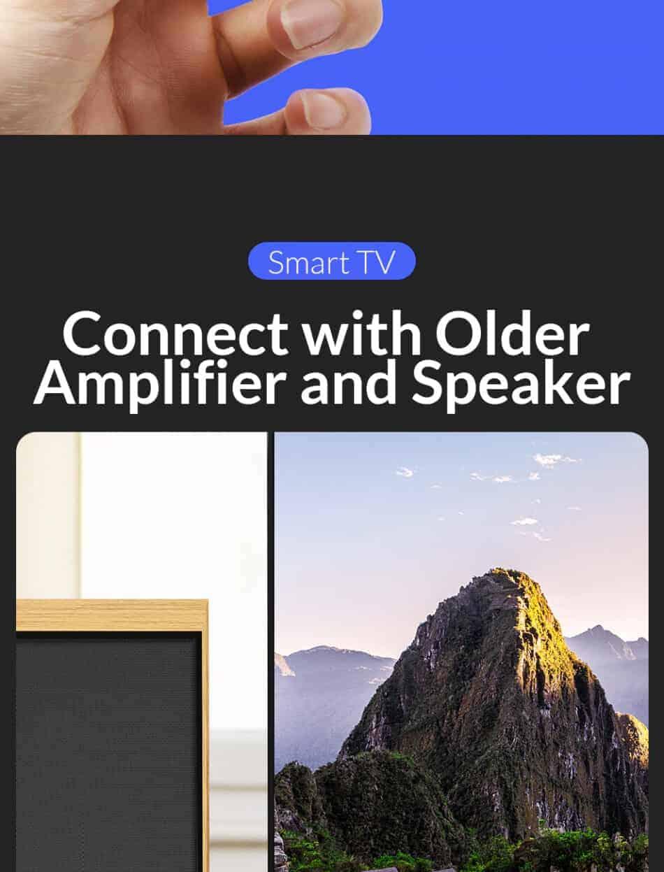Unnlink New Digital to Analog Audio Converter Smart TV