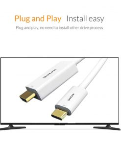 Unnlink USB C to HDMI Cable Plug and Play install easy