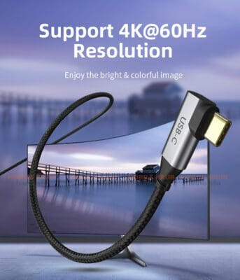 CABLETIME type c to hdmi Cable 4K enjoy the bright Colorfil image