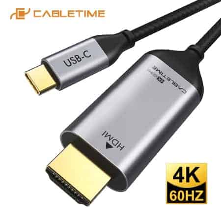CABLETIME type c to hdmi Cable 4K display 01