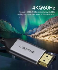 CABLETIME type c to hdmi Cable 4K display 05