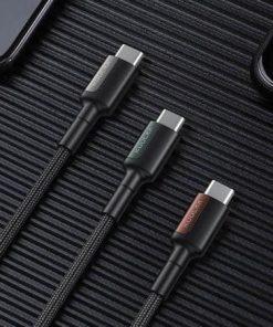 KUULAA USB Type C to USB Type C Cable display 06