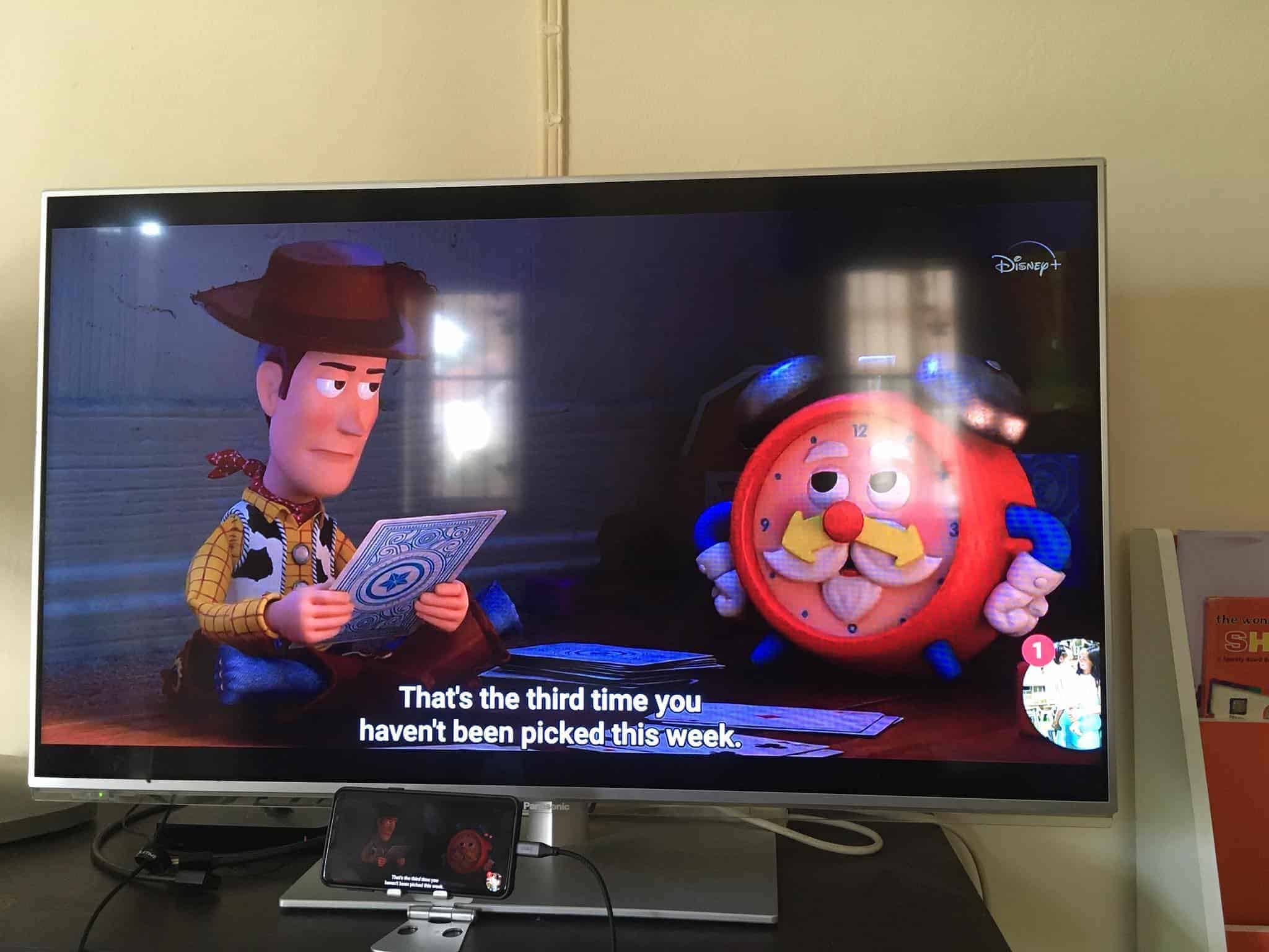 Phone to HDMI For Disney+ Hotstar Review 03