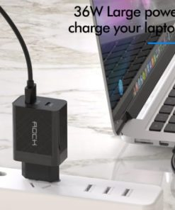 ROCK Quick Charge 4.0 36W QC PD 3.0 Phone Charger_display04