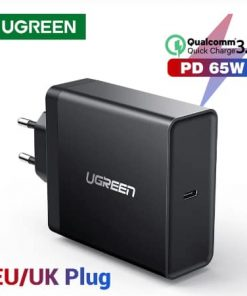 Ugreen PD 65W Charger USB type C display 01
