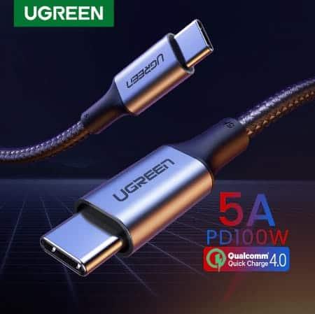 Ugreen USB Type C to USB C Cable Display_01