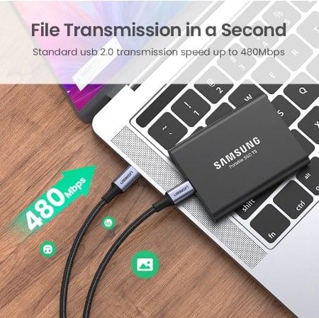 Ugreen USB Type C to USB C Cable Display_03