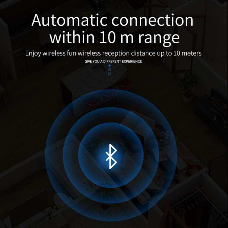 Bluetooth 5.0 Audio Receiver VIKEFON Automatic Connection within 10m range