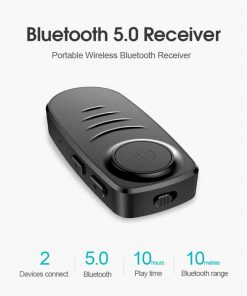 Bluetooth 5.0 Audio Receiver VIKEFON Portable
