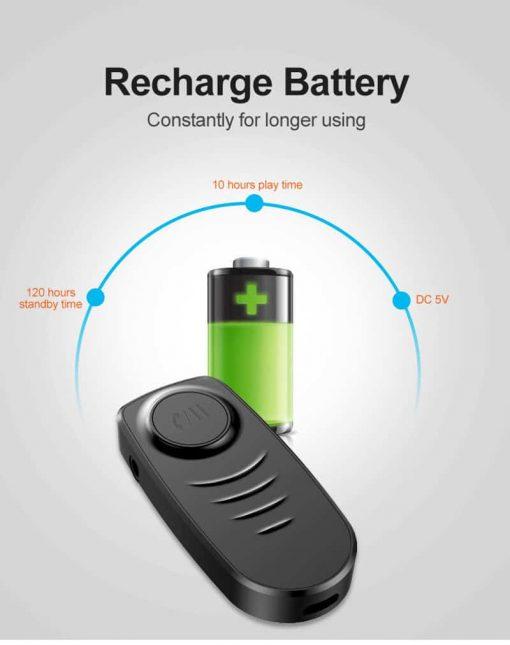 Bluetooth 5.0 Audio Receiver VIKEFON Recharge battery