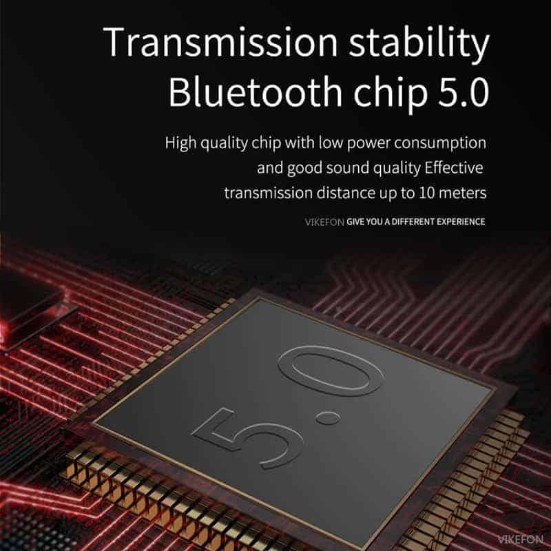 Bluetooth 5.0 Audio Receiver VIKEFON Transmission stability