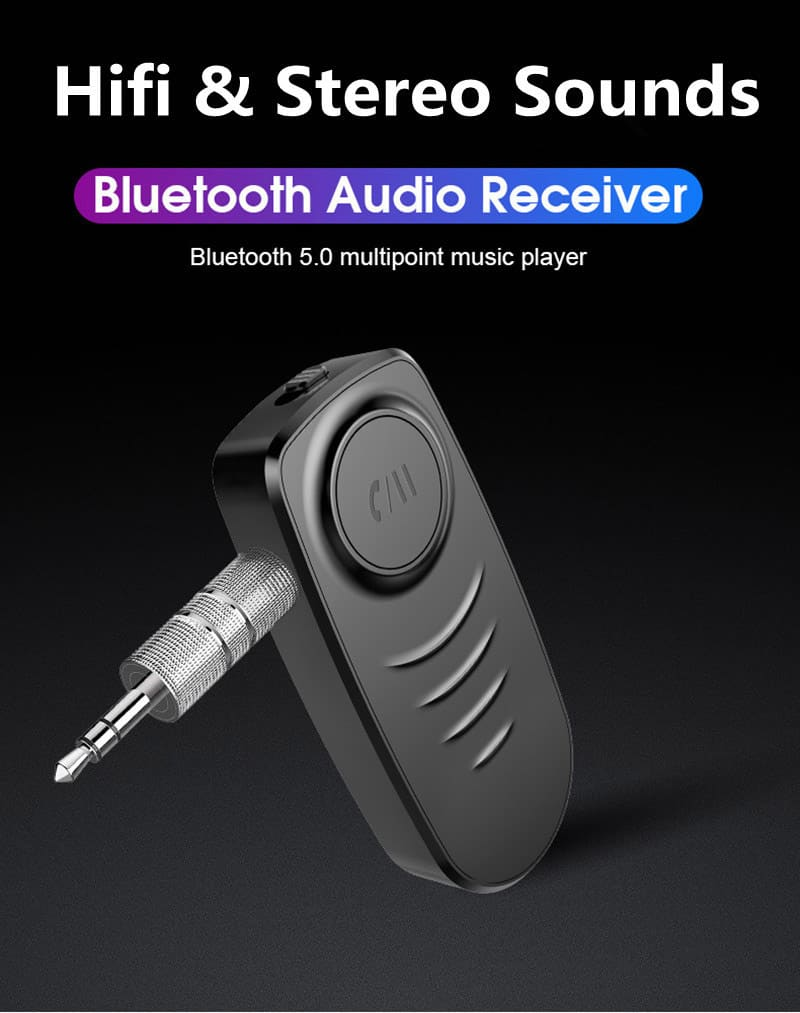 Bluetooth 5.0 Audio Receiver VIKEFON hifi stereo sound