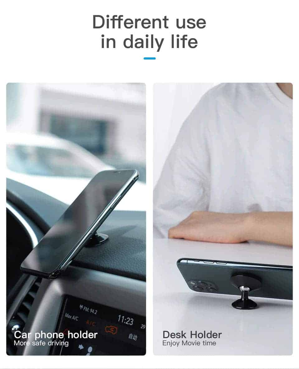 KUULAA Car Phone Holder Magnetic Different use in daily life