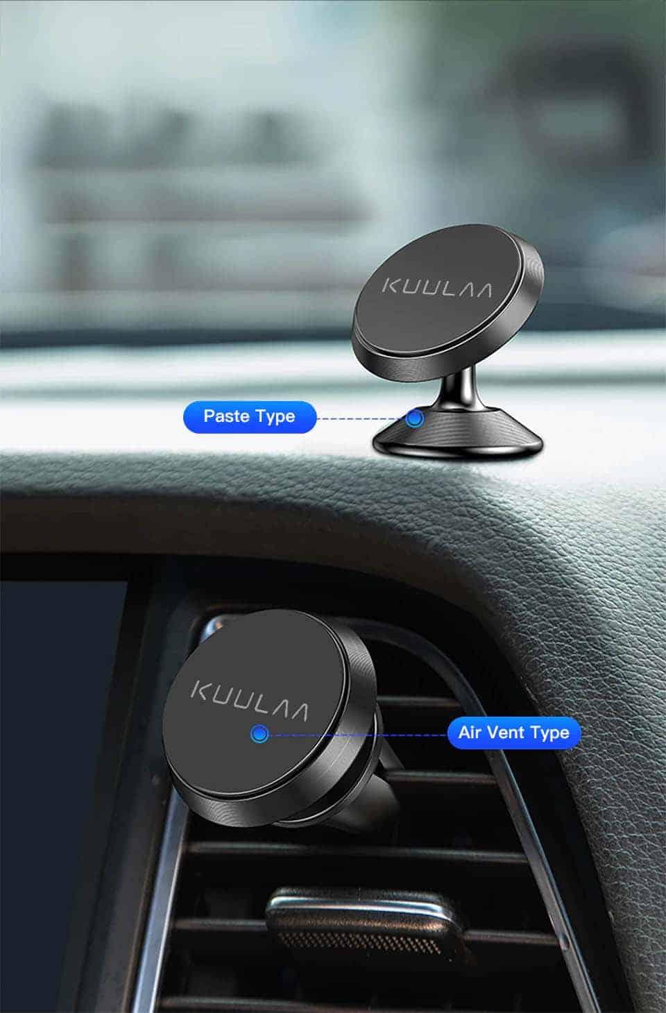 KUULAA Car Phone Holder Magnetic Paste type