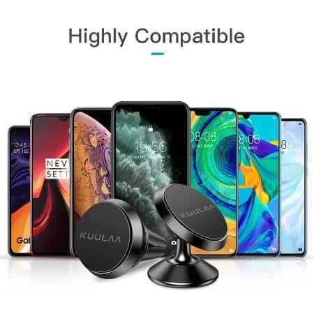 KUULAA Car Phone Holder Magnetic display 05