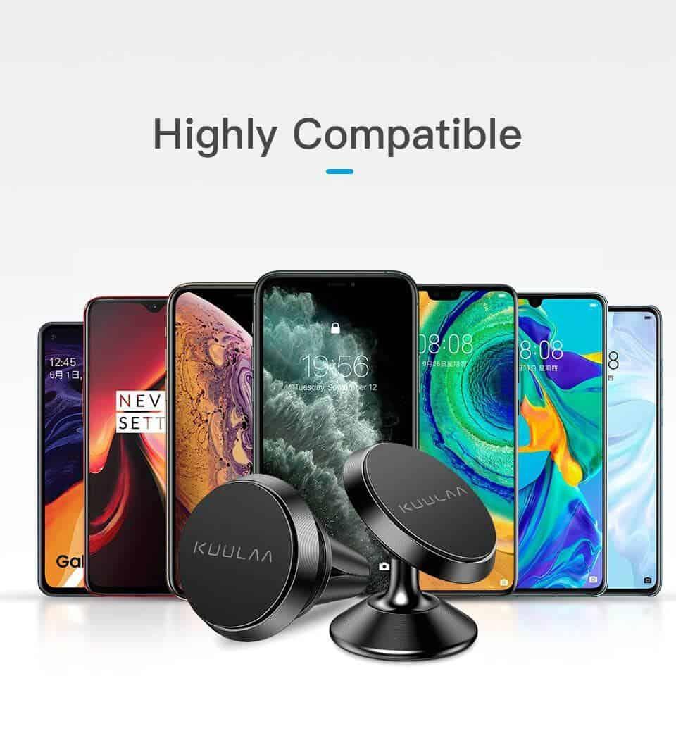KUULAA Car Phone Holder Magnetic higly Compatible
