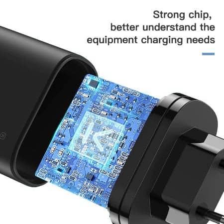 KUULAA Quick Charge 3.0 USB Charger 30W QC3.0 QC Fast Charging display 05