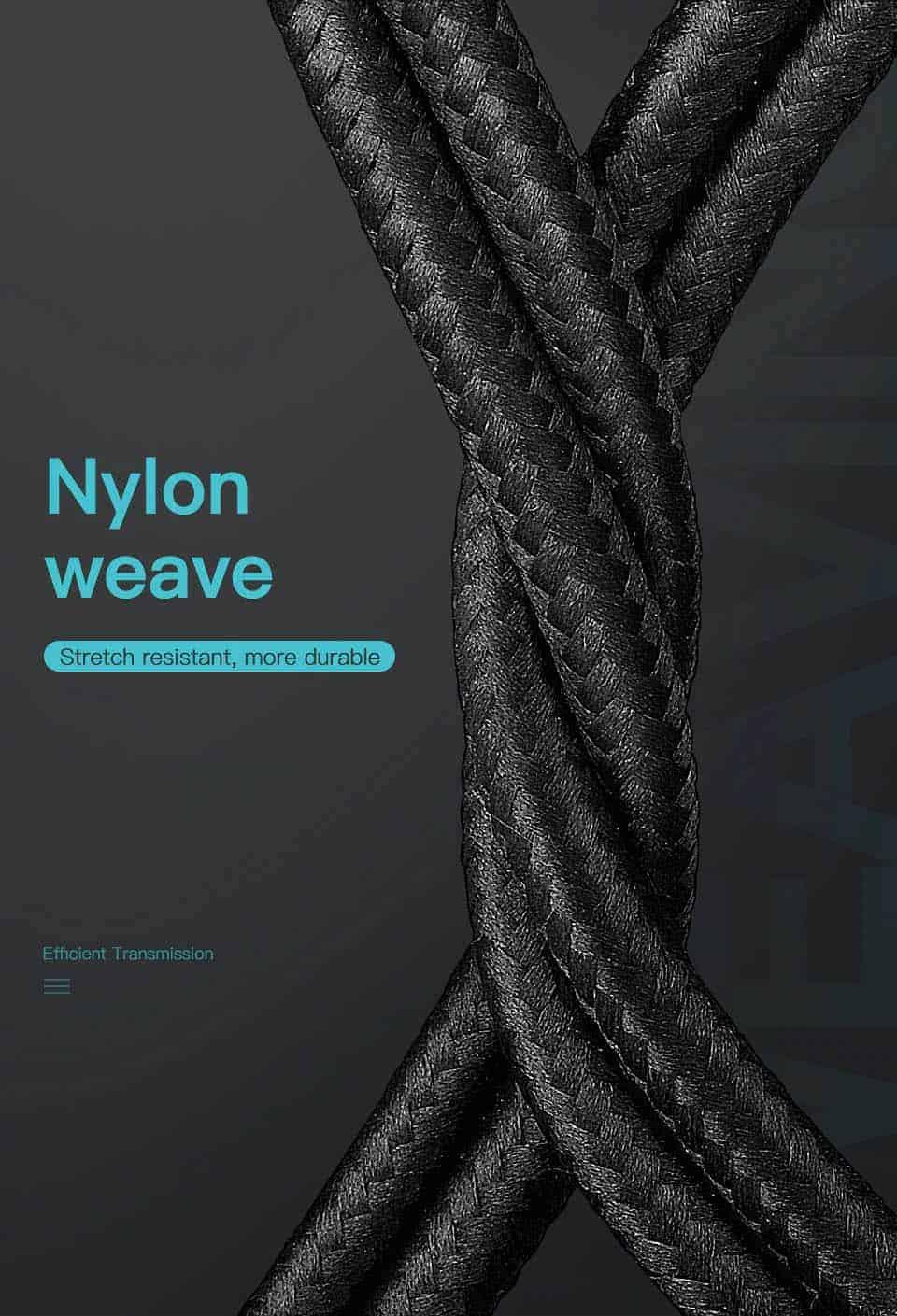 KUULAA USB Type C Cable 3A Nylon