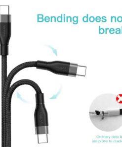 KUULAA USB Type C Cable 3A display 04