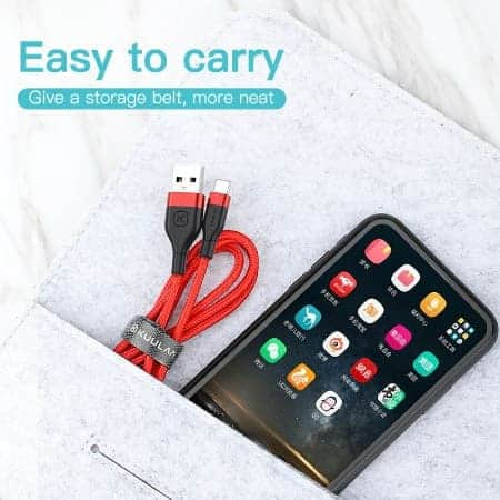 KUULAA USB Type C Cable 3A display 05