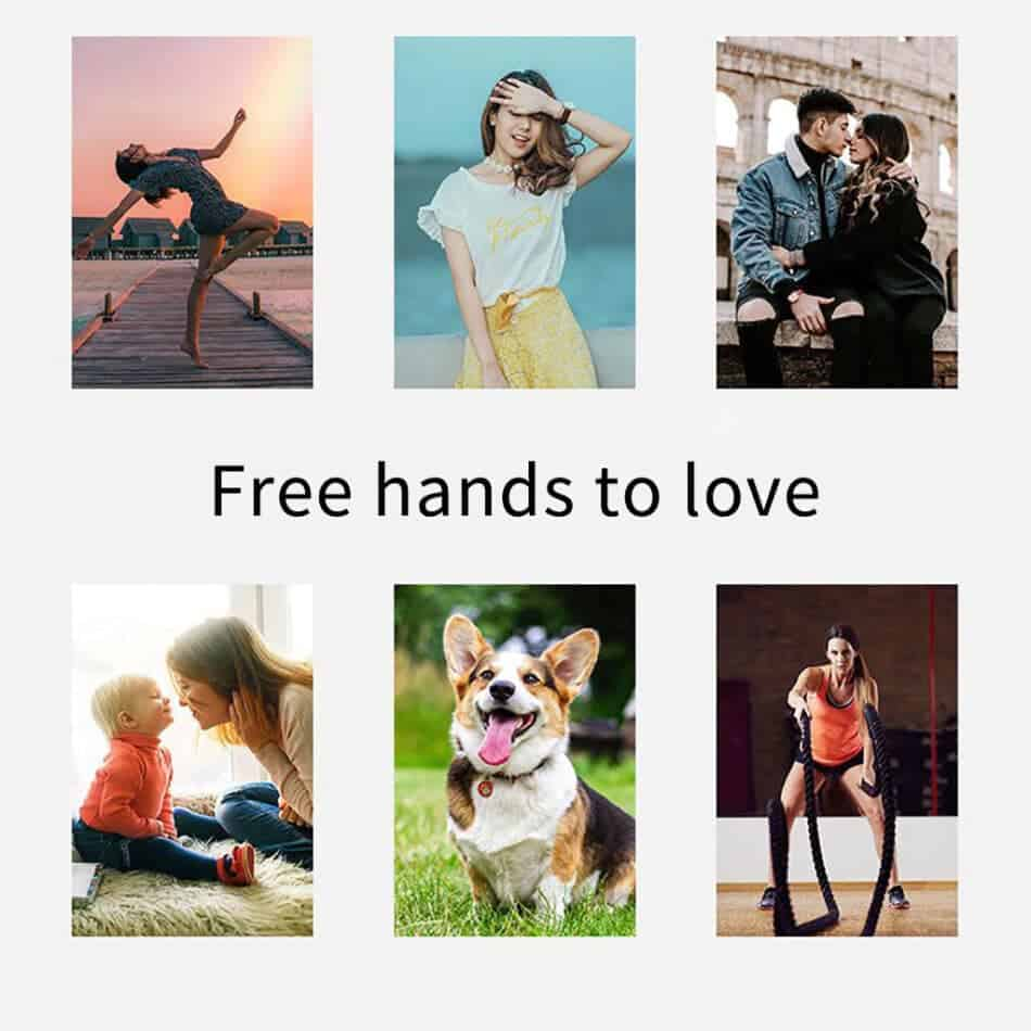360 object tracking holder Free hand to love