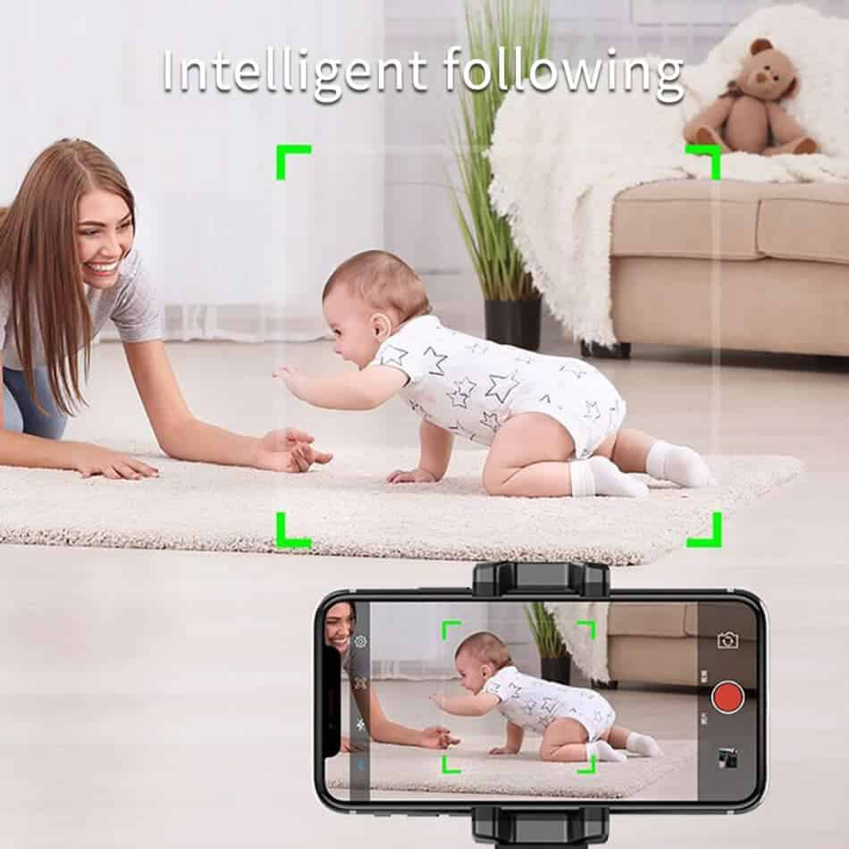 360 object tracking holder intelligent following