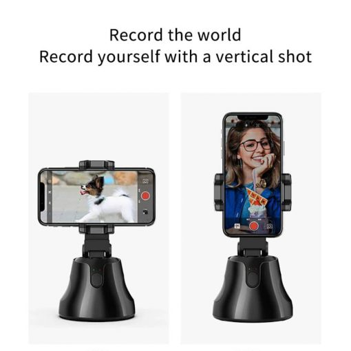 360 object tracking holder record the world record yourself with a vertical shot