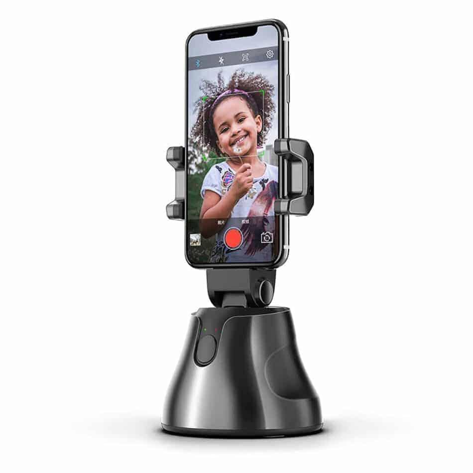 360 object tracking holder-sample use