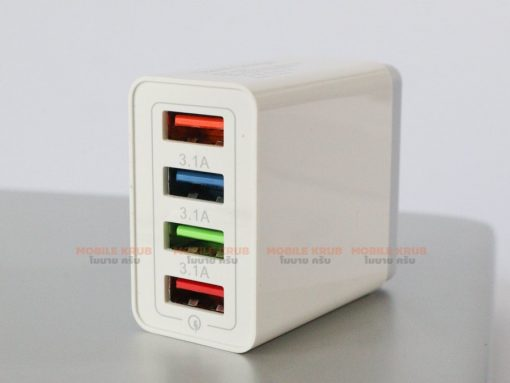 4 USB Charger Quick Charge 3-1