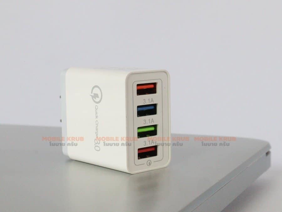 4 USB Charger Quick Charge 3-2