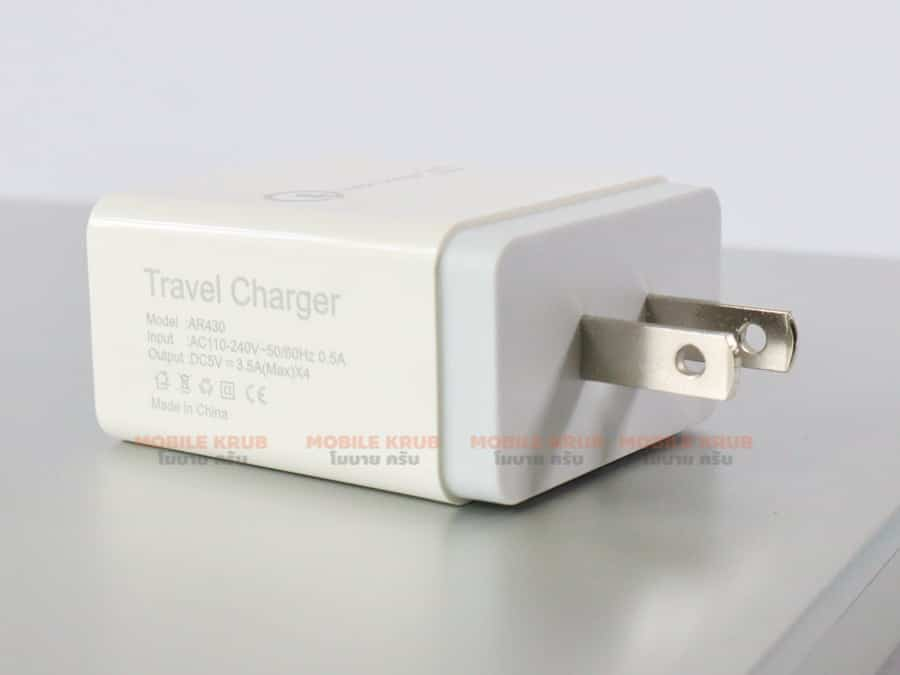 4 USB Charger Quick Charge 3-4
