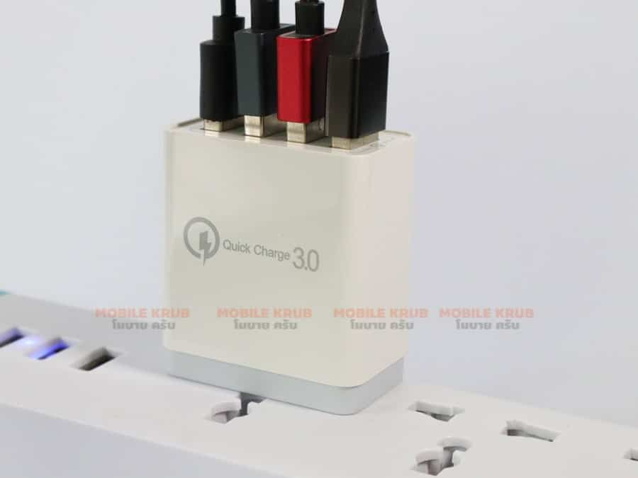 4 USB Charger Quick Charge 3-7