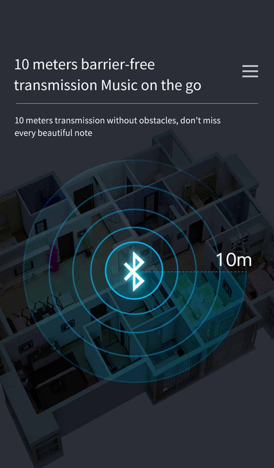 Bluetooth 5.0 Audio Receiver Transmitter with LCD Display 2IN1_10 meter barrier-free transmission music on the go