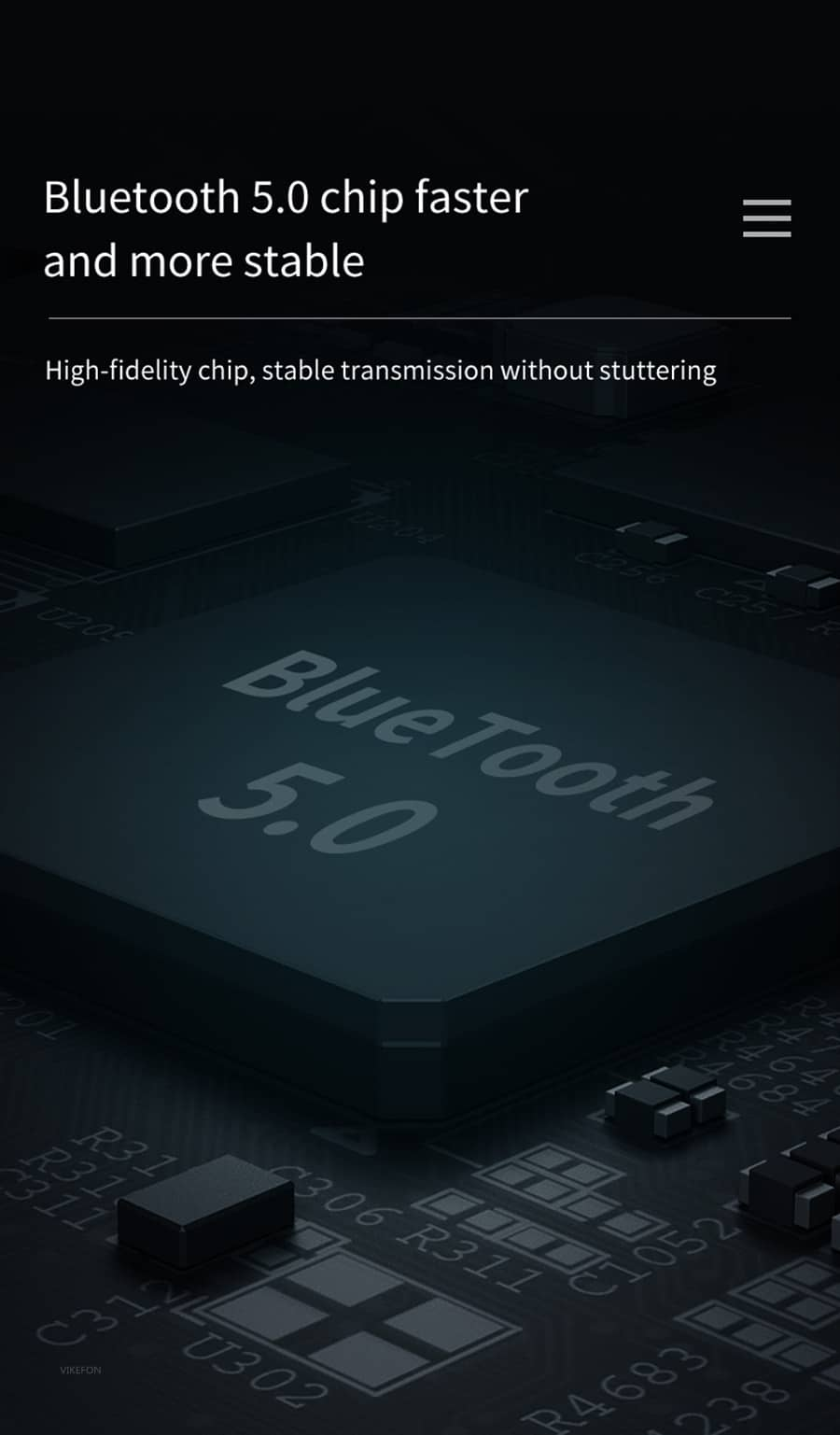 Bluetooth 5.0 Audio Receiver Transmitter with LCD Display 2IN1_Faster and more stable