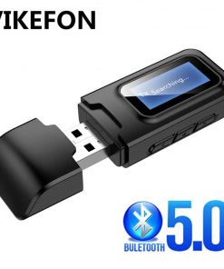 Bluetooth 5.0 Audio Receiver Transmitter with LCD Display 2IN1_overview