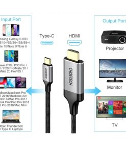 Choetech Type C to HDMI Cable Proflie