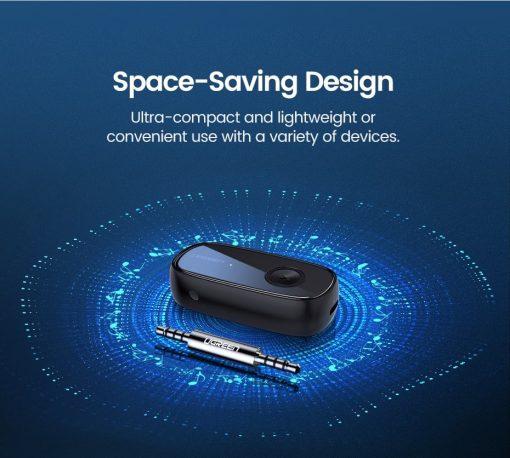 Ugreen Bluetooth Receiver 5.0 Space saving design