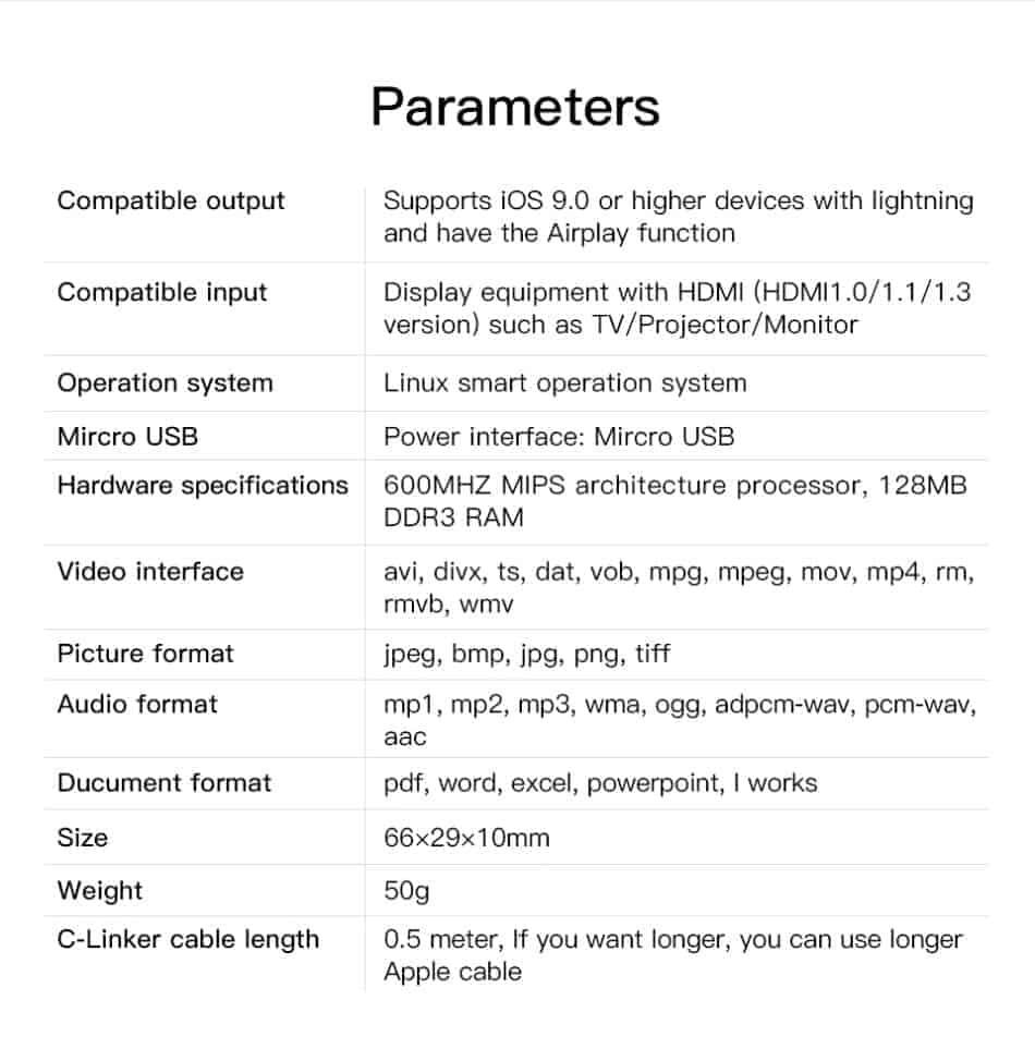iphone-to-tv-GGMM Parameters
