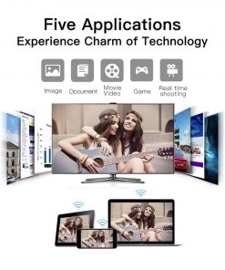 Dongle WiFi Wireless HDMI TO TV WiFi 5G-2.4G for YouTube GGMM Five Applications