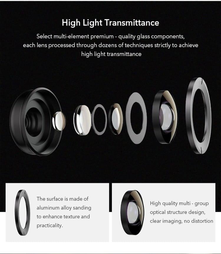 APEXEL HD optic camera phone lens 30-80mm macro lens 06