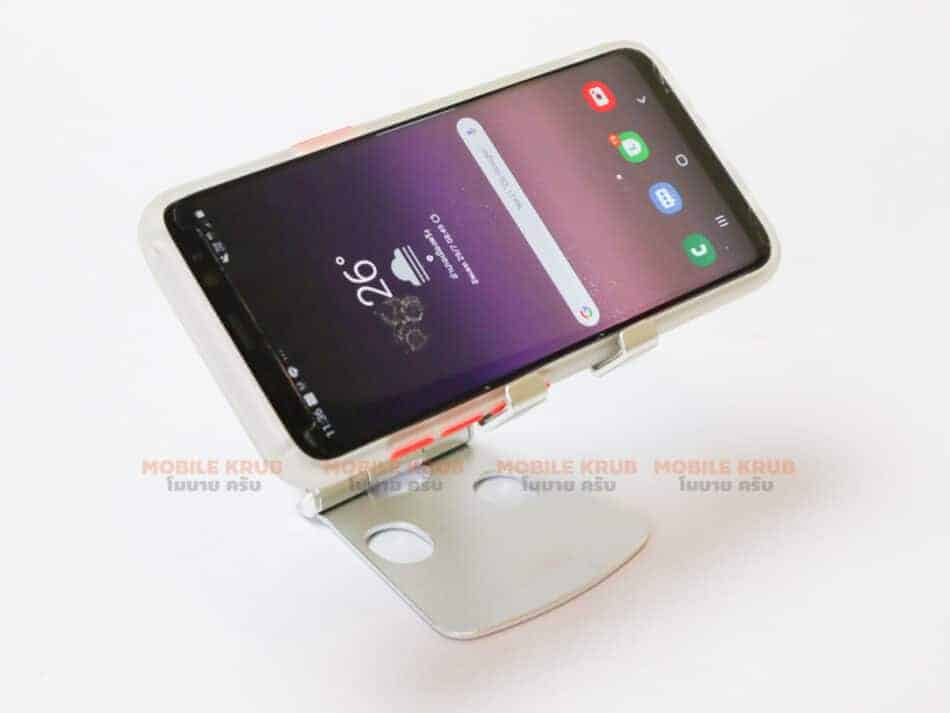 Foldable Aluminum stand for smart phone lzj01 real Product 15